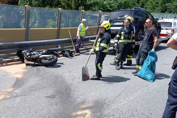 Tödlicher Motorradunfall in Bad Aussee