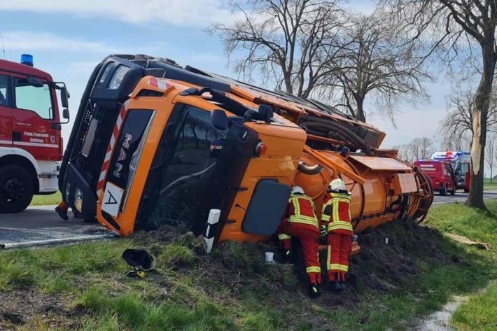 Der Gesamtschaden beläuft sich in Grimmen nach ersten Schätzungen auf etwa 80.000 Euro