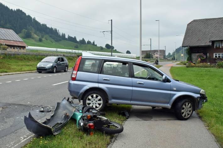 Schwerer Verkehrsunfall gestern in Escholzmatt LU.