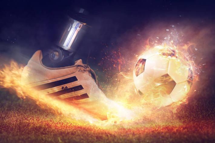 Körperliche Fitness ist für einen Fußballer unerlässlich (Symbolbild)