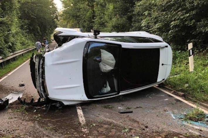 Verkehrsunfall unter Alkoholeinfluss in Zweibrücken