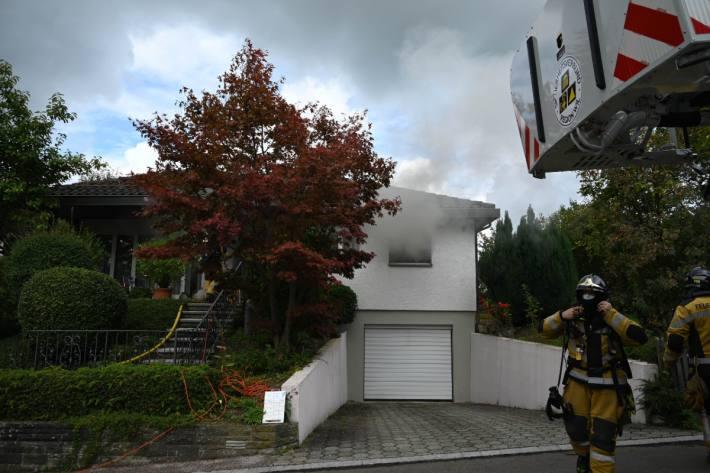 In Wil SG brannte es gestern in einer Küche.