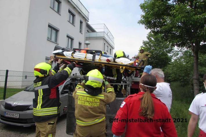 Brand mit Todesfolge in Mistelbach