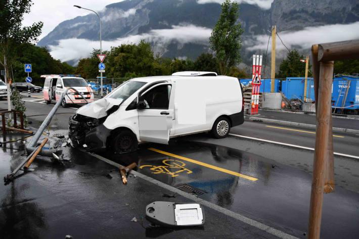 Junglenker verursacht Totalschaden in Chur