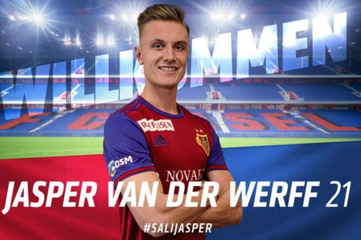 Van der Werff zum FC Basel.