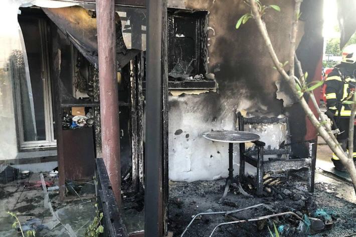 Zwei Brände in Châtel-St-Denis und Granges-Paccot durch Zigaretten ausgelöst