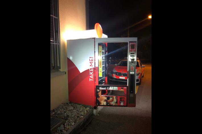 Diebstahl aus Verpflegungsautomat in Bütschwil