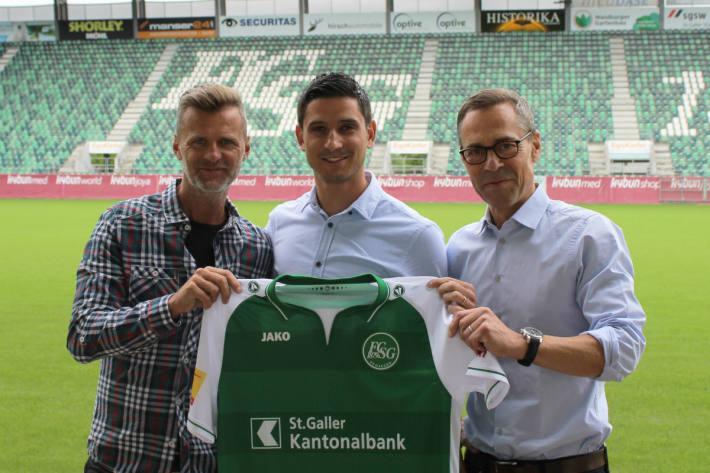 Der Spieler kehrt nach St.Gallen zurück.