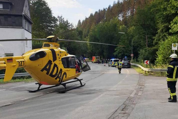 Schwer Unfall in Schalksmühle