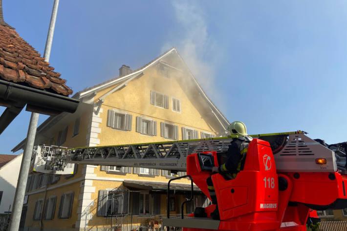 Akku von E-Scooter führte zu Brand in Spreitenbach