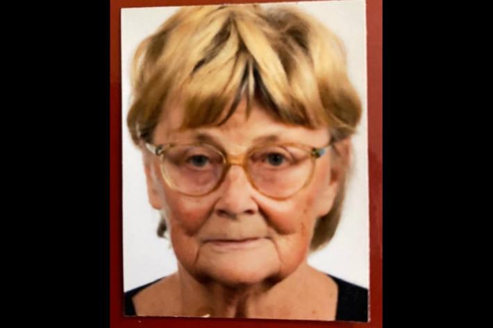 Bild des 86-jährigen Opfers aus Geraberg