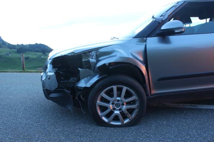 In Weissbad AI ist ein Autofahrer unter Alkoholeinfluss verunfallt.
