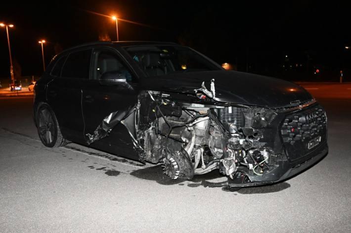 Gestern Abend ist es in Flums SG zu einem folgenschweren Verkehrsunfall gekommen.