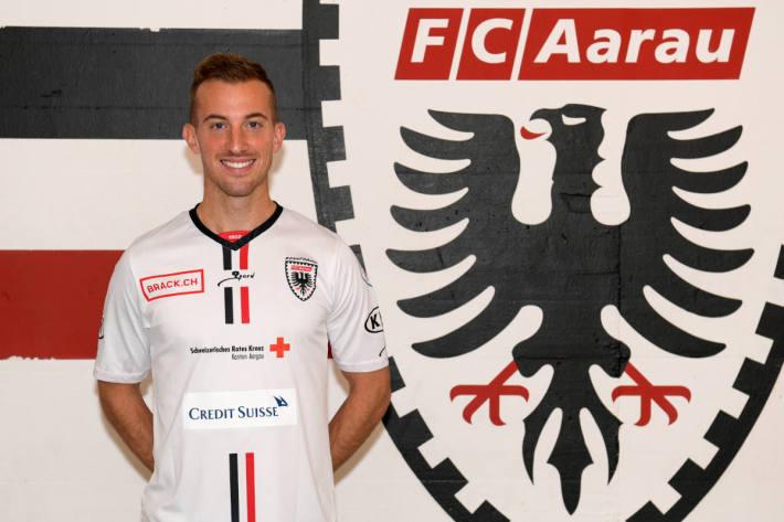 Marco Aratore beim FC Aarau