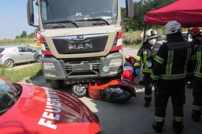 Unfall in Fürstenfeld