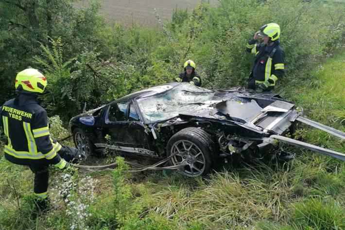 Unfall in Ybbs an der Donau