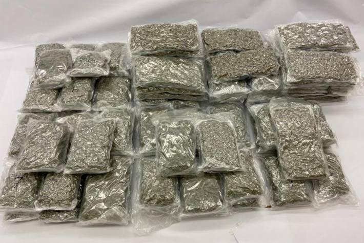 Bei einer Hausdurchsuchung in Brügg BE wurden am Sonntag rund 110 Kilogramm Marihuana sichergestellt.
