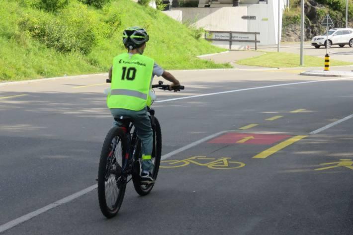 Im Kanton Schwyz haben 1'582 Kinder die Radfahrerprüfung bestanden.