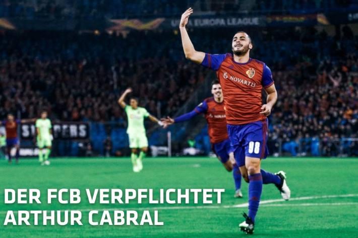 Arthur Cabral bleibt beim FC Basel.