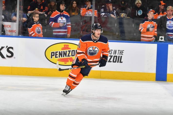 Gaetan Haas von den Edmonton Oilers vorübergehend zurück zum SC Bern.