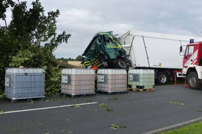 Schwerer Verkehrsunfall in Neuenwalde