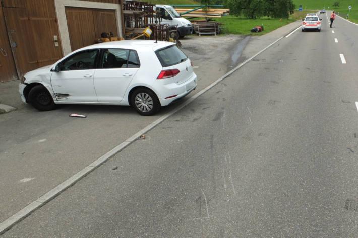 Unfallörtlichkeit in Mörschwil
