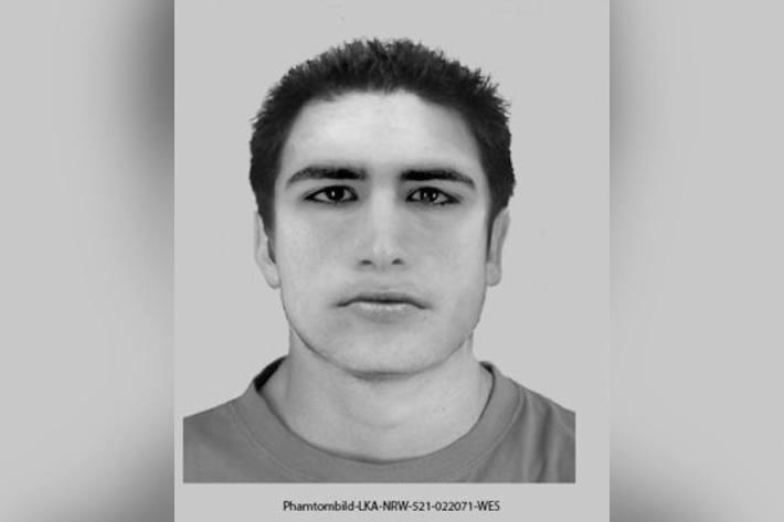 Polizei fahndet mit Phantombild nach Unbekanntem