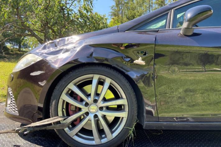 Der Autofahrer hatte gestern beim Unfall in Hottwil keine Chance.
