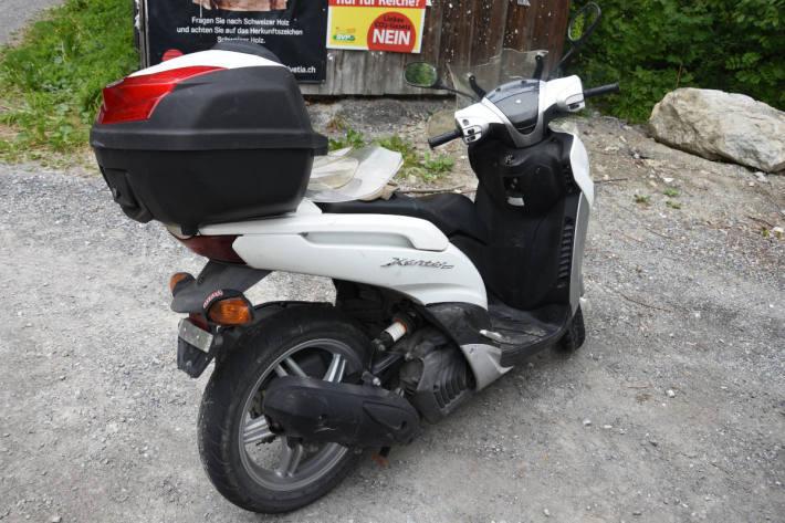 Kontrolle über Motorrad verloren bei Bad Ragaz