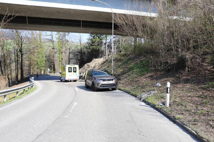 Velofahrer bei Frontalkollision in St.Gallen verletzt