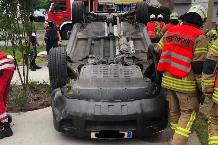 Schwerer Unfall in Graz