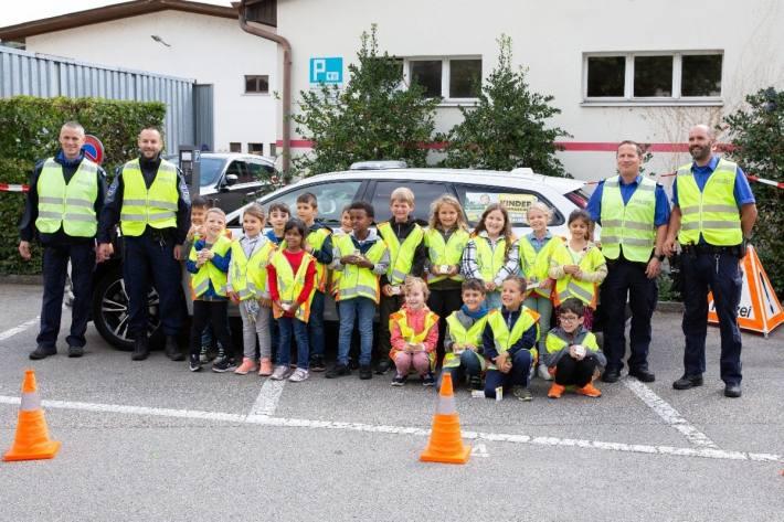 13 Tage wurden für die Kinder von der Regionalpolizei Zofingen bewusst eingesetzt.