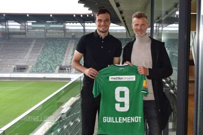 Jérémy Guillemenot verlängert beim FC St.Gallen.