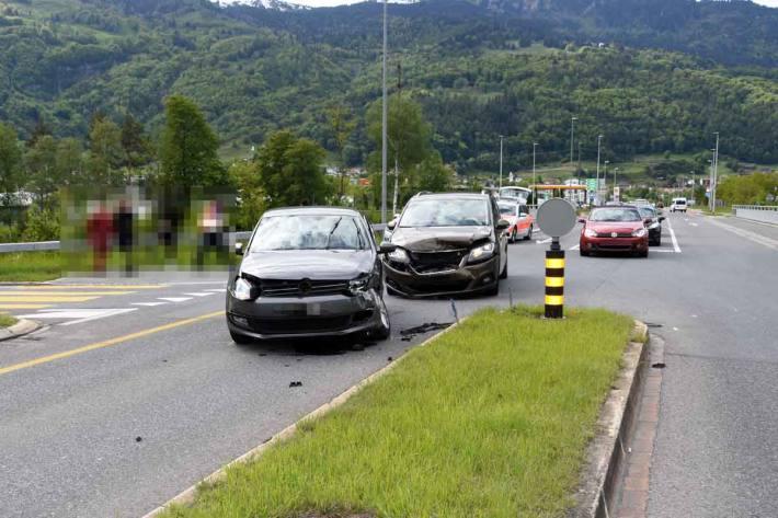 Verletzte Personen bei Verkehrsunfall in Trübbach