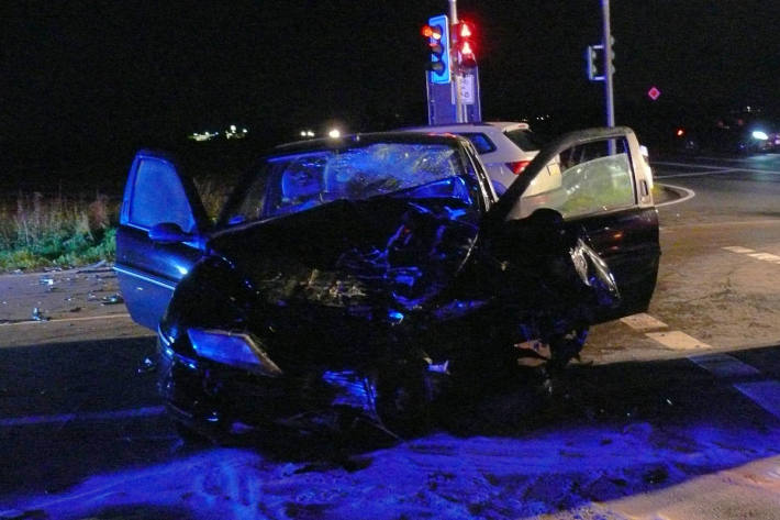 Fahrzeug des Unfallverursachers