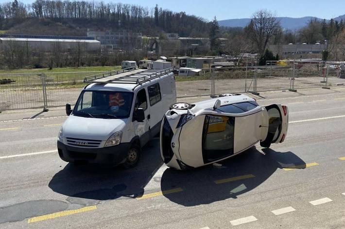 Personen wurden in Dittingen bei der Kollision keine verletzt
