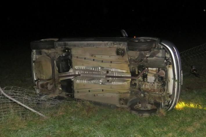 Das nachfolgende Auto auf der A3 verunfallte ebenfalls.