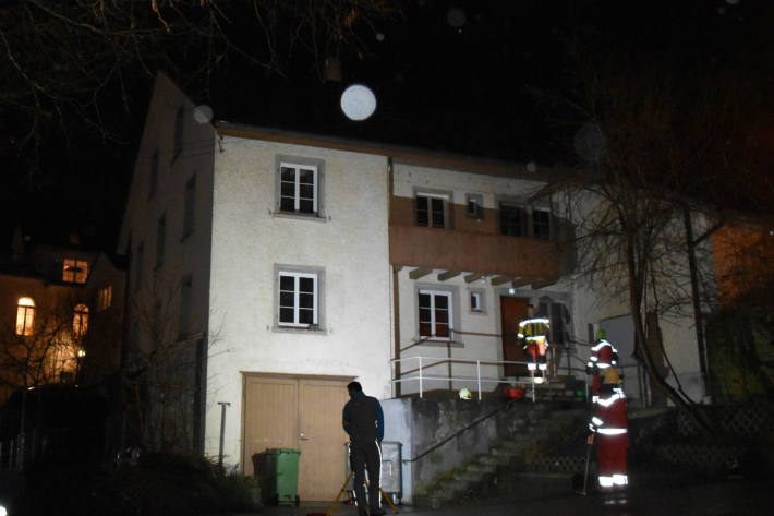 Das Asylwohnheim brannte.