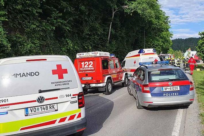 Schwerer Unfall in Voitsberg