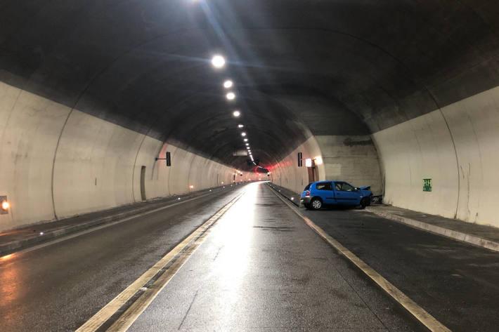 Tödlicher Unfall im Mont-Chemin-Tunnel in Martinach