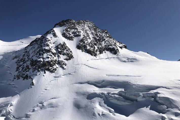 Tödlicher Bergunfall am Piz Glüschaint bei Samedan