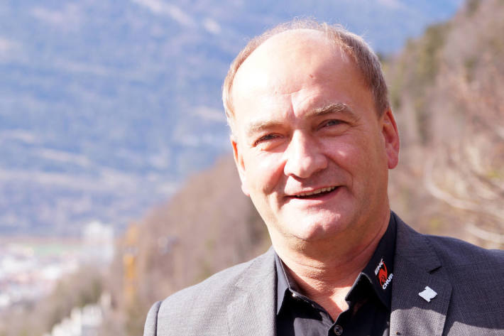 Tomas Tamfal vom EHC Chur
