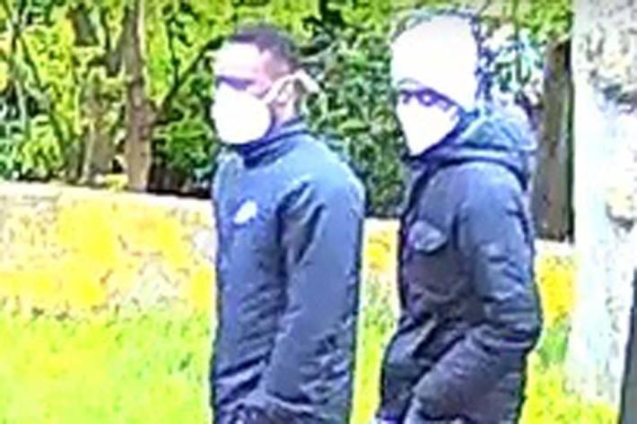 Polizei fahndet in Bremen mit Foto nach Räubern