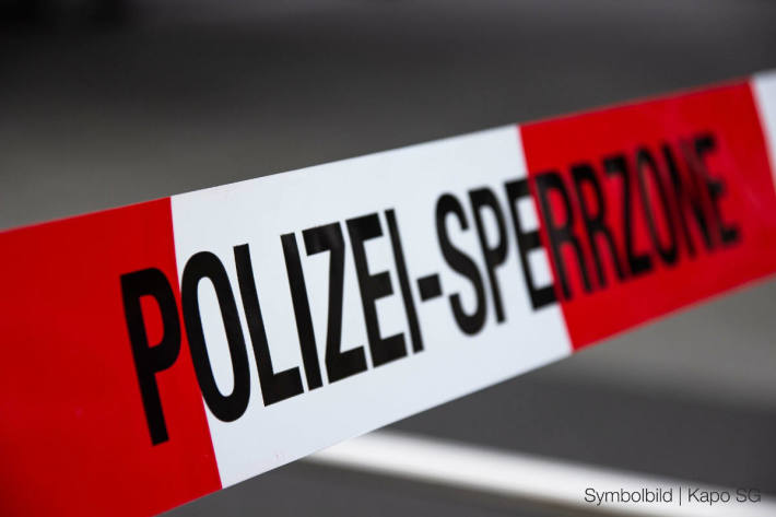 Symbolbild – Polizeiabsperrung