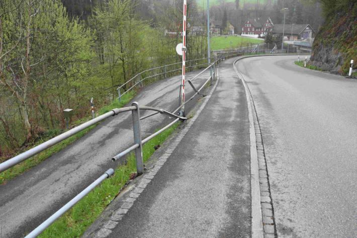Fahrzeugdiebstahl in Bazenheid stellte sich als Unfall heraus