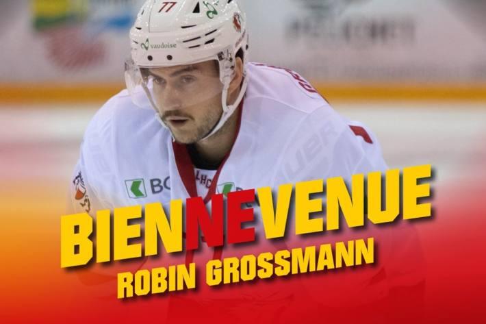 Robin Grossmann wechselt zum EHC Biel.