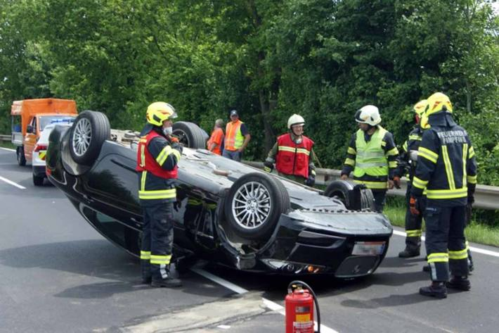 Verkehrsunfall in Basling