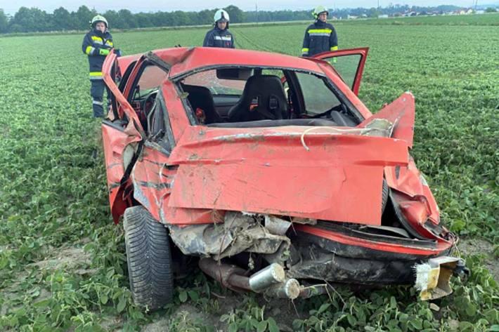 Heute wurde die Feuerwehr Haidershofen zu einer Fahrzeugbergung nach einem Verkehrsunfall alarmiert