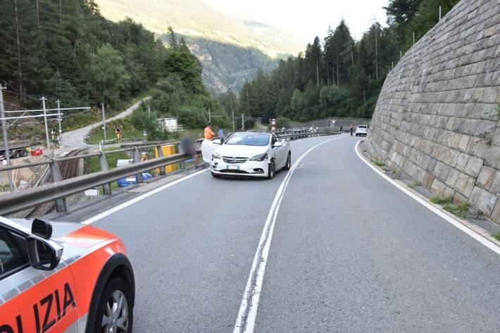 In Miralago GR kam es gestern zu einem Unfall.