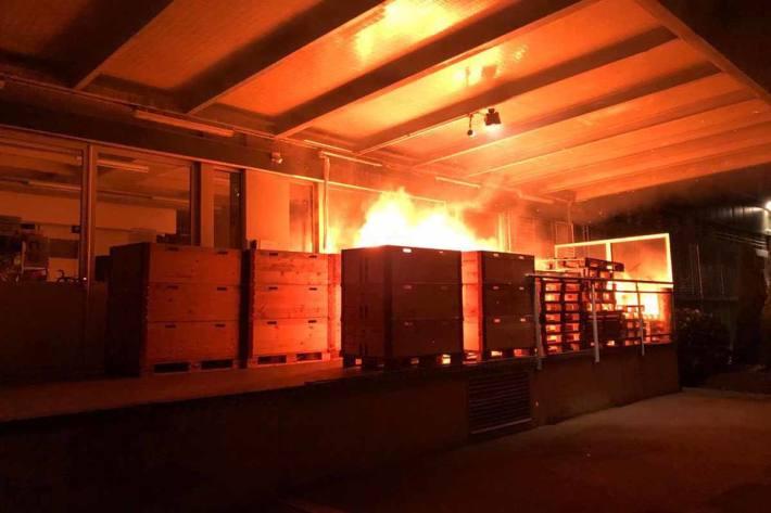Brandstiftung in St.Gallen